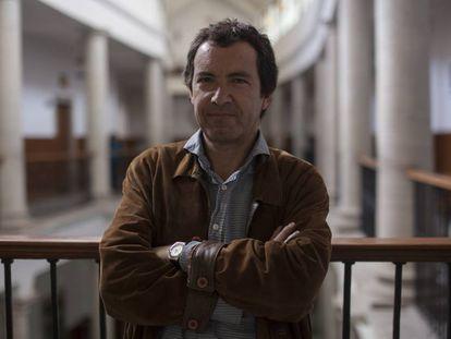 Jordi Gracia en el Festival Cervantino.