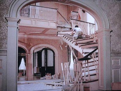 Una de las desastrosas escenas de la película 'Esta casa es una ruina'. |
