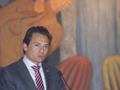 Emilio Lozoya, exdirector de Pemex, en octubre de 2014.