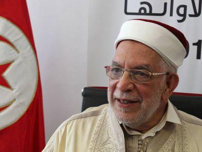 Abdelfatá Muru, el candidato del partido Ennahda a las elecciones presidenciales en Túnez.