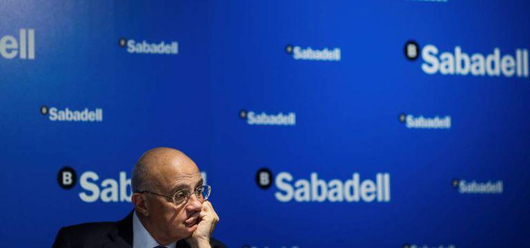 El presidente del Banco Sabadell, Josep Oliu.