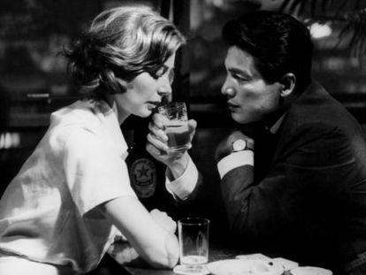 Fotograma de 'Hiroshima mon amour'.