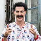 Sacha Baron Cohen plays Borat.