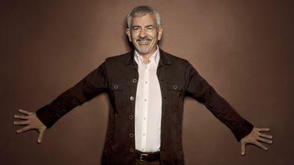 El actor, productor y presentador Carlos Sobera.