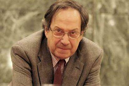José-Carlos Mainer es coautor, con Santos Juliá, del ensayo 'El aprendizaje de la libertad. La cultura de la Transición' (Alianza).