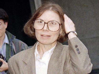 La escritora Janet Malcom, en una imagen de 1993.