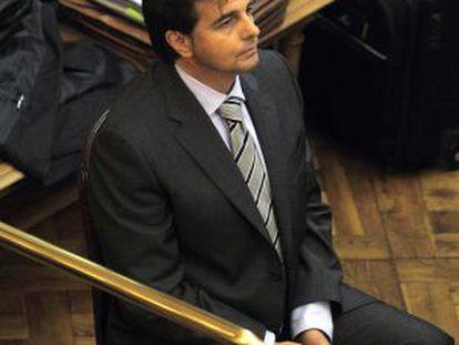 Lluís Corominas, durante el juicio.