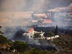 DVD 1071 (20-09-21) La lava amenaza la localidad del Paraíso en el municipio del paso, tras la erupción volcánica en Cumbre Vieja, La Palma. Foto Samuel Sánchez