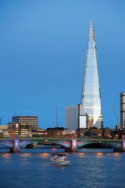 La London Bridge Tower.