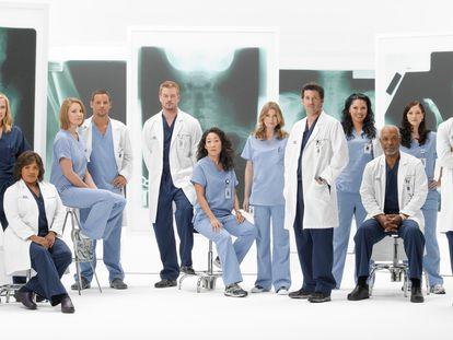 El reparto de la serie 'Anatomía de Grey'.