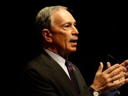 El exalcalde de Nueva York, Michael Bloomberg.