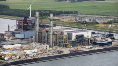 Central de ciclo combinado desarrollada por Duro Felguera en Flevo (Holanda).