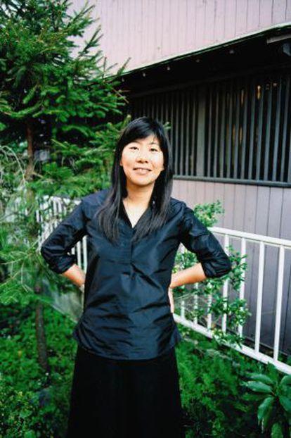 La escritora japonesa Banana Yoshimoto.