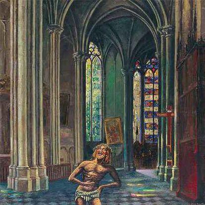 <i>El gran poema de Amiens,</i> pintado, en sucesivas fases, entre 1907 y 1942.
