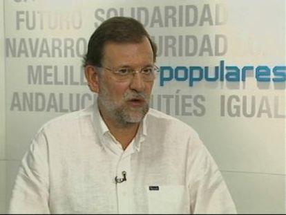 """Rajoy califica de """"insulto"""" la subida de impuestos que planea el Gobierno"""