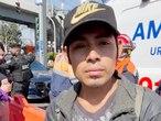 Fotograma del video donde aparece Miguel Córdova 'Angie', un joven que vivía bajo en el puente de la Línea 12 del metro de Ciudad de México.