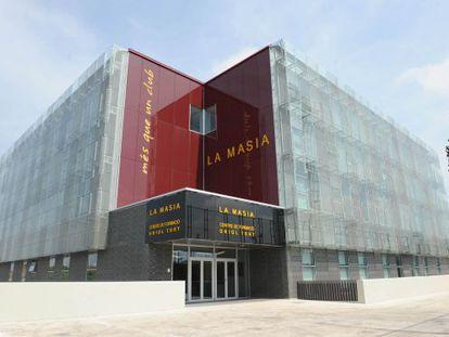 Instalaciones de la Masia en Barcelona.
