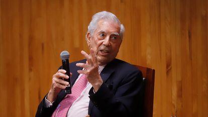 El escritor Mario Vargas Llosa, el pasado mes de septiembre durante una intervención en Zapopan (México).
