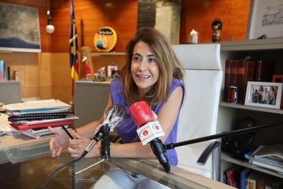 Raquel Sánchez, hasta ahora alcaldesa de Gavà, ocupará la cartera de Transportes.