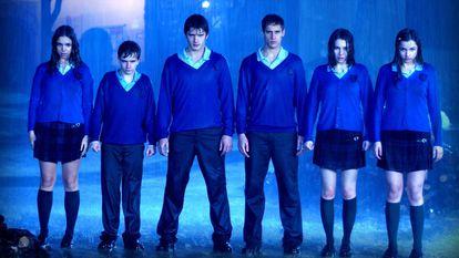 Una imagen de la serie 'El internado'.