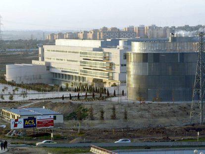 Vista general del Hospital de Fuenlabrada.