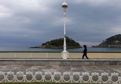 San Sebastián, el pasado martes.
