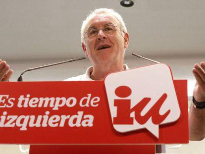 Cayo Lara, coordinador federal de Izquierda Unida.