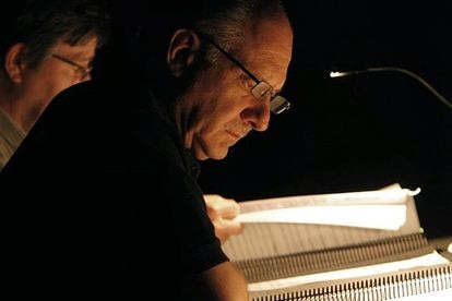 Composer Daniel Catán, who died in 2011, working on one of his works.