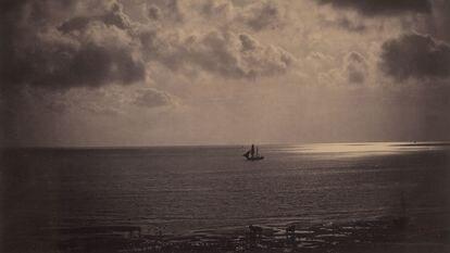 'El velero' (1856), de Gustave Le Gray.