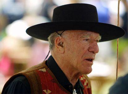 Robert Mondavi, en Santa Elene, California, en 2003