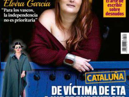 Portada de 'Interviú' con la senadora Elvira García.