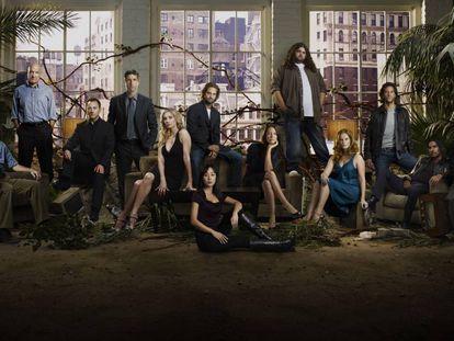Cartel de la quinta temporada de 'Perdidos'.