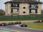 33 VERSTAPPEN Max (nld), Red Bull Racing Honda RB16B, almost spun at the restart during the Formula 1 Pirelli Gran Premio Del Made In Italy E Dell emilia Romagna 2021 from April 16 to 18, 2021 on the Autodromo Internazionale Enzo e Dino Ferrari, in Imola, Italy - Photo Florent Gooden / DPPI