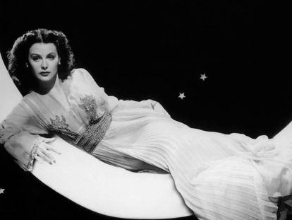 Hedy Lamarr, en 1944 en un fotograma de una de sus películas.