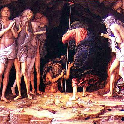 <i>Descent into Limbo</i>, de Andrea Mantegna, (1430-1506), subastado en 2003 en la Sotheby&#39;s de Nueva York.