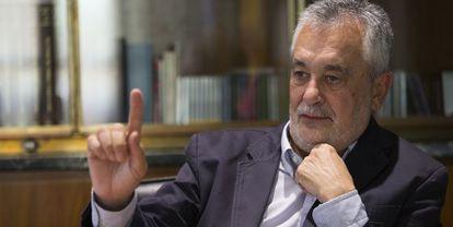 José Antonio Griñán, expresidente de la Junta y senador.