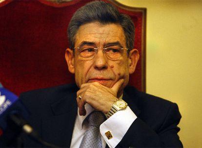 Juan Luis de la Rúa, presidente del Tribunal Superior de Valencia.
