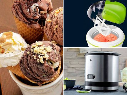 Probamos cinco máquinas para elaborar helado en casa.