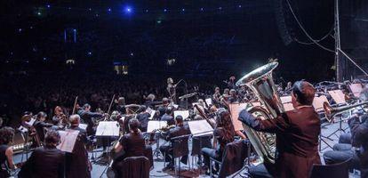 La Film Symphony Orchestra en Las Ventas en 2014.