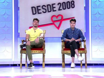 Dos participantes en 'Mujeres y hombres y viceversa'.