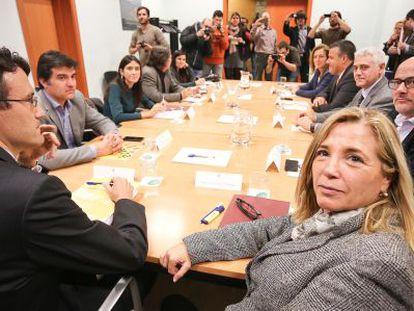 Presentación del informe de la comisión para la reforma de las administraciones catalanas.