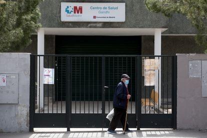 Centro de Salud Gandhi, en el distrito de Ciudad Lineal, en Madrid, en abril de 2021.