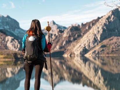 El contacto con la naturaleza es uno de los principales atractivos del Camino de Santiago. GETTY IMAGES.