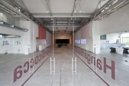 El centro Hangar Bicocca.