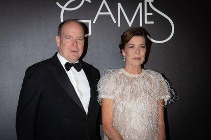 Alberto y Carolina de Mónaco.