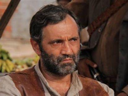 Domingos Montagner, el Santo de la novela 'Viejo Chico'.