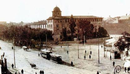 Imagen del Instituto Lluís Vives de Valencia en 1920.