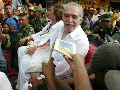 Gabriel García Márquez en 2007 en Santa Marta, Colombia. En vídeo, el tráiler de la serie.