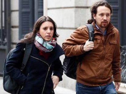 Pablo y yo hemos emprendido un camino que en los próximos meses revolverá nuestras emociones , afirma la portavoz de Podemos en el Congreso