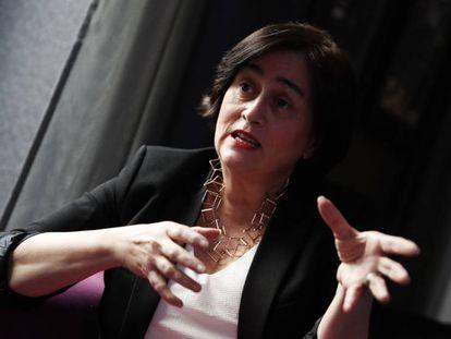 Paloma Llaneza, abogada y autora de 'Datanomics', durante la entrevista.